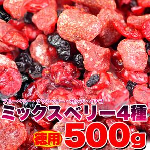 徳用ミックスベリー4種500g≪常温≫