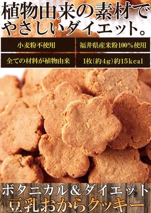 ボタニカル&ダイエット豆乳おからクッキー200g