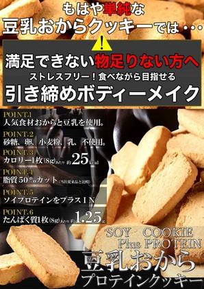 豆乳おからプロテインクッキー200g