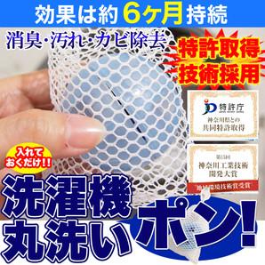 長期間約6ヵ月使用可☆洗濯機丸洗いポン≪常温≫