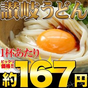 【ゆうパケット出荷】鎌田醤油特製ダシ醤油6袋付き!!讃岐うどん6食分600g(300g×2袋)